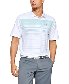 Under Armour Men's Varied Stripes Playoff Polo