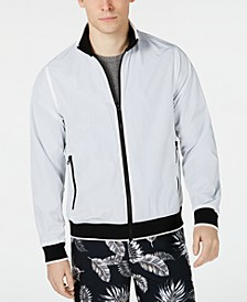 Men's Contrast Bomber Jacket