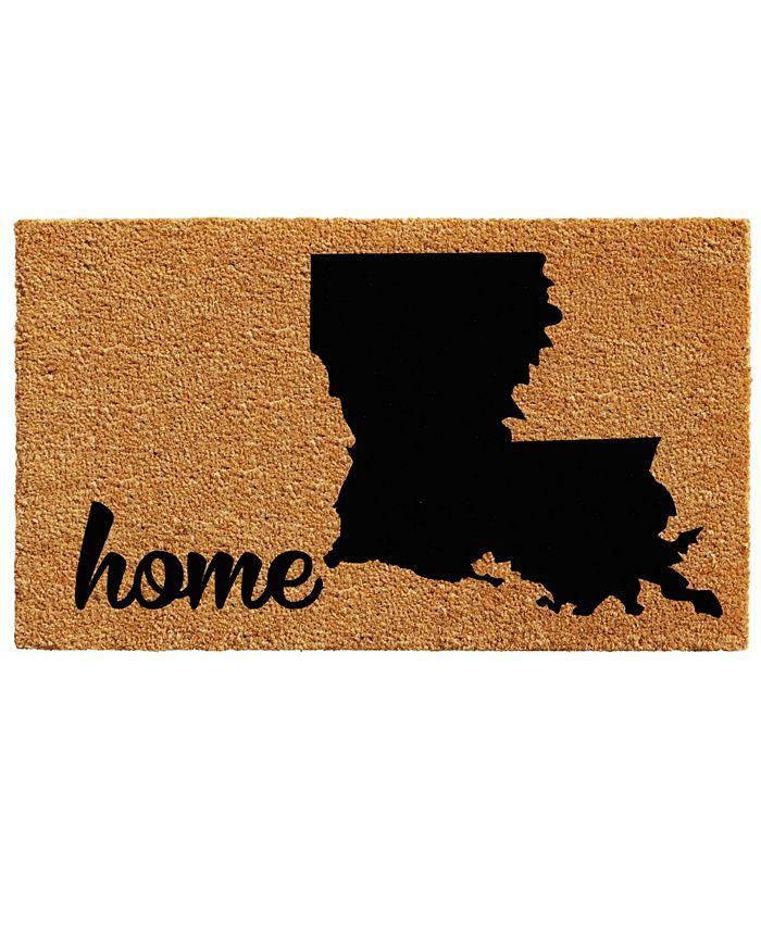 "Home & More - Louisiana 24"" x 36"" Coir/Vinyl Doormat"