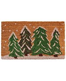 """Winter Wonderland 24"""" x 36"""" Coir/Vinyl Doormat"""