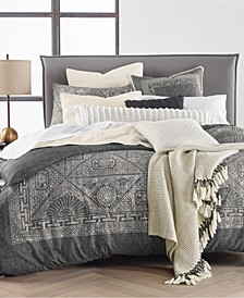 CLOSEOUT! Bali Batik Cotton 2-Pc. Twin Duvet Cover Set, Created for Macy's