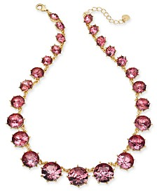 "Charter Club Stone Collar Necklace, 17"" + 2"" extender, Created for Macy's"