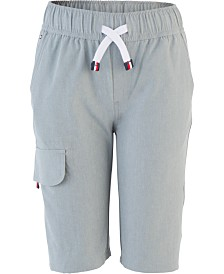 Tommy Hilfiger Big Boys Pull-On Jogger Cargo Shorts