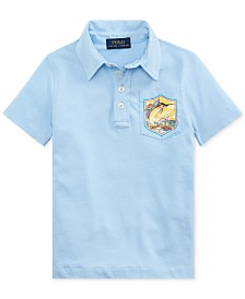 Polo Ralph Lauren Little Boys Marlin Cotton Jersey Polo Shirt