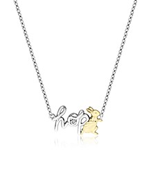 Beatrix Potter Sterling Silver Two-Tone Necklace