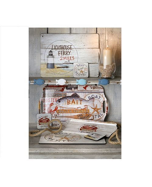 Pimpernel Coastal Signs Collection