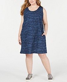Plus Size Anytime Printed Active Dress
