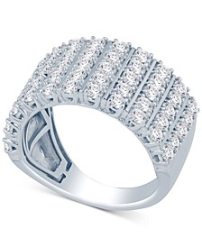 Diamond Multi-Row Statement Ring (2 ct. t.w.)