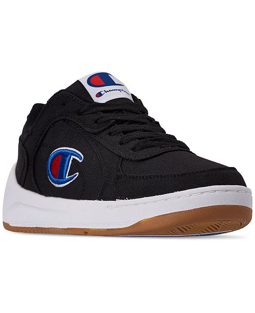 b493271fab9 Champion Men s Super Court C Low Casual Sneakers from Finish Line ...