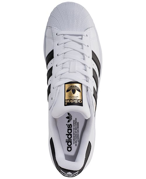 purchase cheap baffc a8545 ... adidas Men s Superstar Casual Sneakers from Finish ...