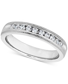 Diamond Milgrain Band (1/4 ct. t.w.)