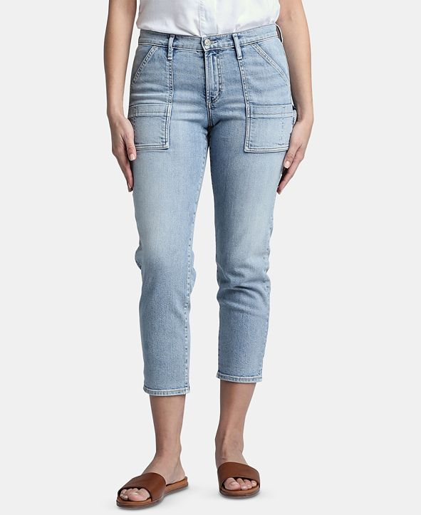 Silver Jeans Co. In The Loop Cropped Carpenter Jeans