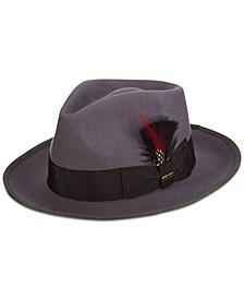 Dorfman Pacific Men's Wool Snap-Brim Fedora