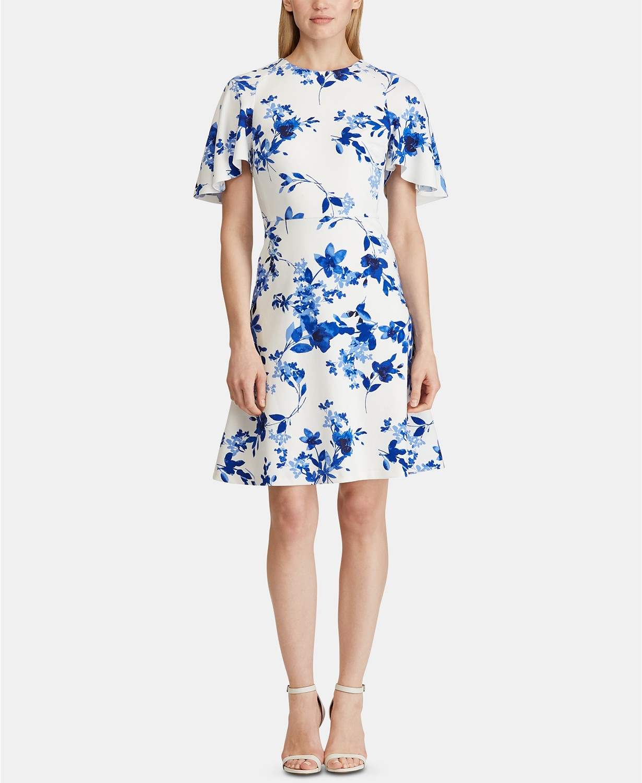 petite print dresses