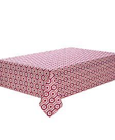 "C. Wonder Multi-Stripe Coral 84"" Tablecloth"