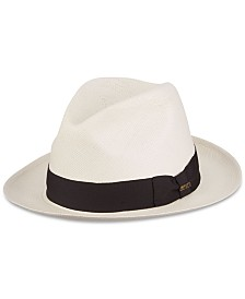 Dorfman Pacific Men's Grade 3 Big-Brim Panama Hat