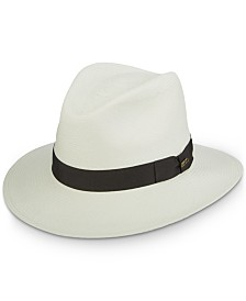 Dorfman Pacific Men's Scala Grade 8 Panama Hat