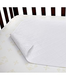 Waterproof Crib Mattress Protector Pad 2-Pack