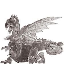 BePuzzled 3D Crystal Puzzle-Dragon Black - 56 Pcs