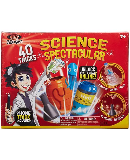 Ideal 40-Trick Magic Science Spectacular