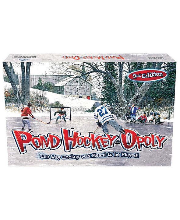 Outset Media Pond Hockey-opoly-2nd Edition
