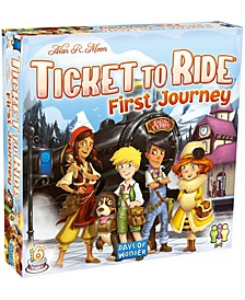 Ticket to Ride-First Journey-Europe Map