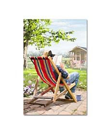 "The Macneil Studio 'Deck Chair' Canvas Art - 19"" x 12"" x 2"""