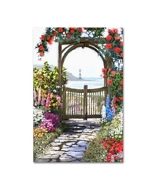 "Trademark Global The Macneil Studio 'Coastal Gate' Canvas Art - 32"" x 22"" x 2"""