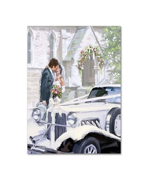 "Trademark Global The Macneil Studio 'Wedding Vintage' Canvas Art - 32"" x 24"" x 2"""