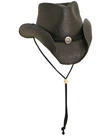 Dorfman Pacific Men's Toyo Shapeable Western Hat