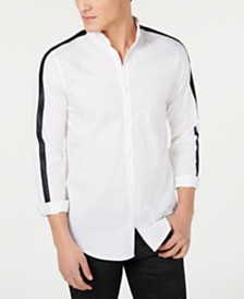A|X Armani Exchange Men's Slim-Fit Trimmed Shirt