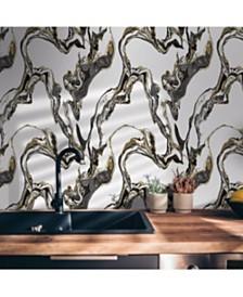 Tempaper Marble Self-Adhesive Wallpaper
