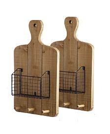 Ellery Wall Basket, Set of 2