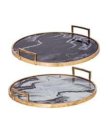 Decorative Trays, Set of 2