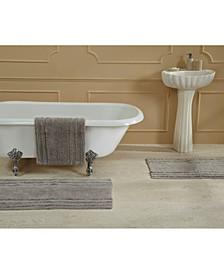 """Ruffled Border Bath Mat 21"""" x 34"""""""
