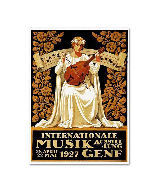 """Trademark Global Vintage Lavoie 'Ads-0055' Canvas Art - 32"""" x 24"""" x 2"""""""