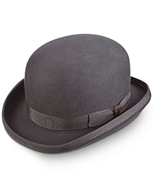 Dorfman Pacific Men's Wool Bowler Hat