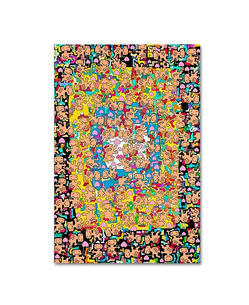 "Trademark Global Miguel Balbas 'Love Overdose' Canvas Art - 32"" x 22"" x 2"""