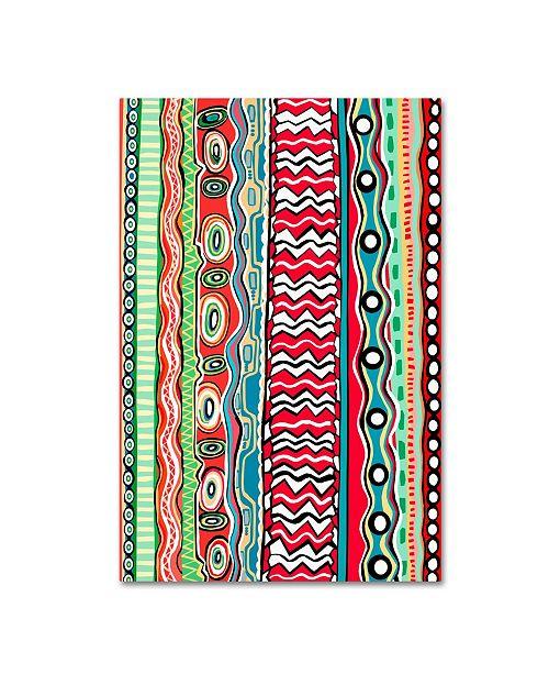 """Trademark Global Miguel Balbas 'Summer VIII' Canvas Art - 47"""" x 30"""" x 2"""""""
