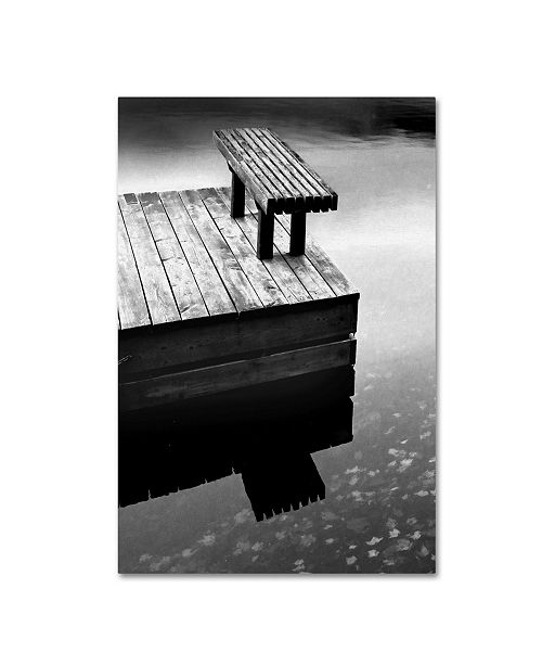 "Trademark Global The Lieberman Collection 'Lake' Canvas Art - 19"" x 12"" x 2"""