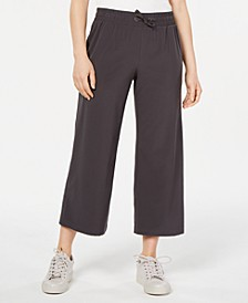 Recycled Wide-Leg Woven Pants, Created for Macy's