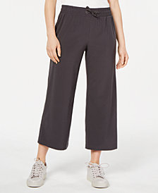 Ideology Recycled Wide-Leg Woven Pants, Created for Macy's
