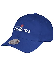 Mitchell & Ness Washington Bullets Hardwood Classic Basic Slouch Cap