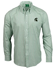 Michigan State Spartans Rank Button Up Shirt
