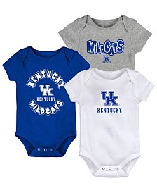 Outerstuff Baby Kentucky Wildcats Everyday Fan 3 Piece Creeper Set