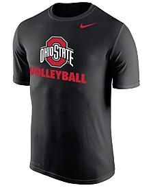Nike Big Boys Ohio State Buckeyes Core Volleyball T-Shirt