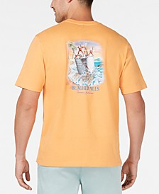 Men's Beached Logo Graphic T-Shirt, Created for Macy's