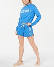 Calvin Klein Performance Logo Sweatshirt & Shorts