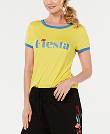 Ringer Pajama T-Shirt, Created for Macy's