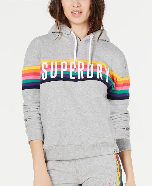 Superdry Carly Carnival Hoodie & Reviews Tops Macy's